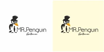 Mr Penguin Logo