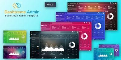 Dashtreme - HTML Admin Template Bootstrap 4