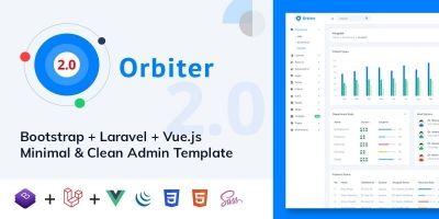 Orbiter - Bootstrap Admin Template