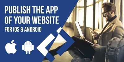 Modern Web To App - iOS Android Source Code