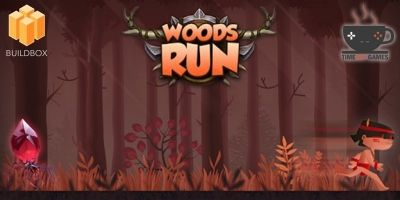Woods Run - Full Buildbox Game