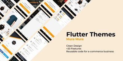 Mura Mura - Flutter UI Kit