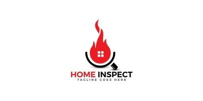 Home Inspection Logo Template