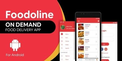 Foodoline - Android App Source Code