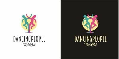 Dancing People Logo