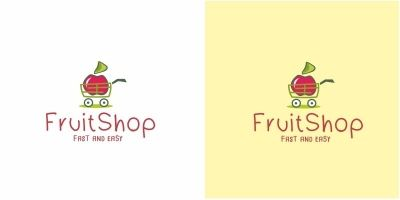 Fruit Shop Logo