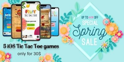 Spring Boom - Five iOS Tic Tac Toe games