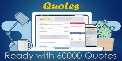 Quotes Website PHP Script