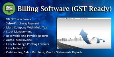 Billing Software GST - VB.NET Win Forms