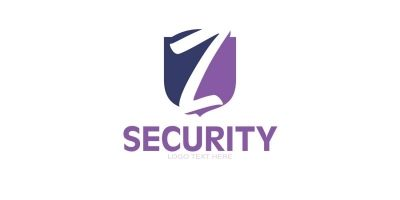 Z Letter Logo In Shield