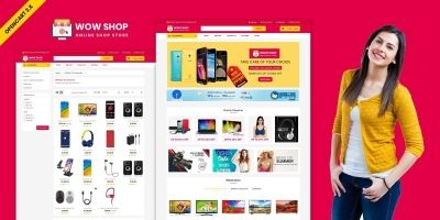 WowShop Multipurpose Opencart Theme