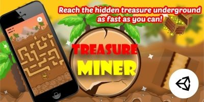 Treasure Miner - Unity Complete Project