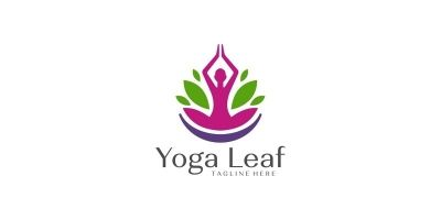 Meditation Leaf Logo