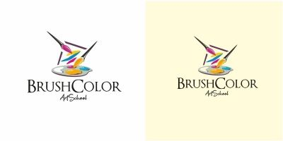 Brush Color Logo