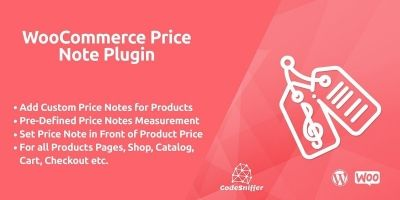 WooCommerce Price Note Plugin