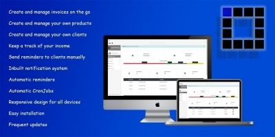 Invoice Manager CRM - PHP Script