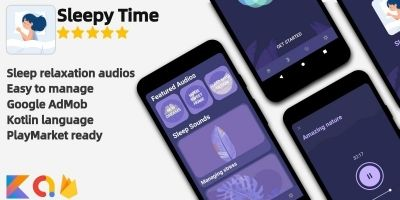 Sleepy Time - Android App Template