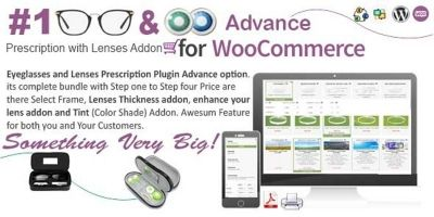WooCommerce Eyeglasses And Lenses  Advanced