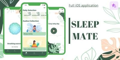 Sleep Mate - Full iOS Application