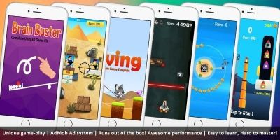 Unity Casual Bundle - 6 Games