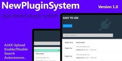 NewPluginSystem PHP