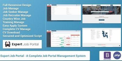 Expert Job Portal Management System