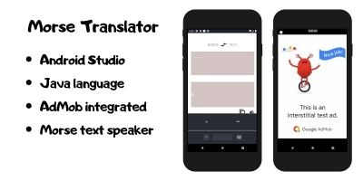 Morse Translator - Android Studio Java Application