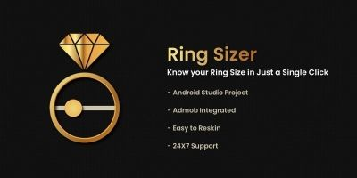 Ring Size Finder - Android Source Code