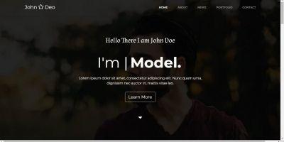 John Doe - HTML 5 Portfolio Template