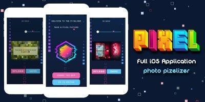 Photo Pixelizer - Full iOS Application