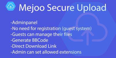 Mejoo - Secure Upload Script