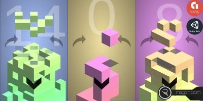 Falling Blocks - Complete Unity Game