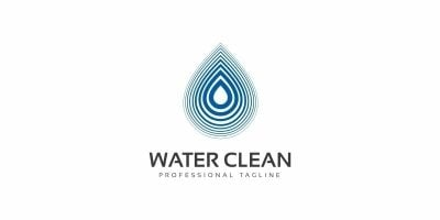Water Clean Logo