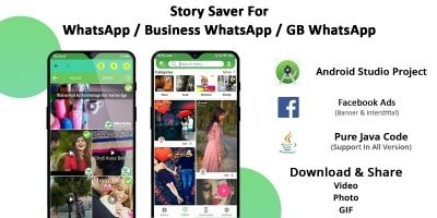 Story Saver For Whatsapp - Android Studio