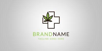 Medical Leaf Logo Template