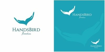 Hands Bird Logo
