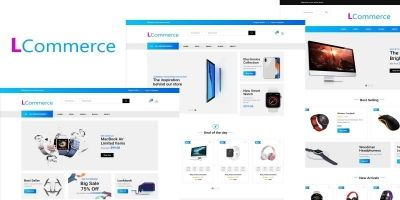 Lcommerce - Ecommerce Html Template