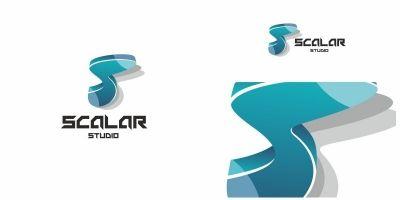 Scalar S Letter Logo