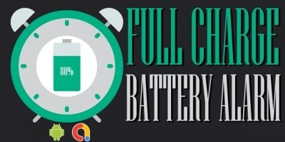 Full Battery Alarm - Android Code With Admob ads