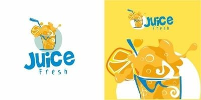 Juice Fruit Logo