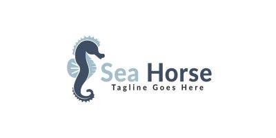 Sea Horse Logo Design.