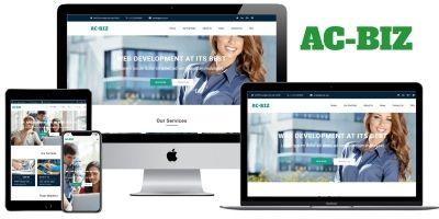 AC BIZ - Multipurpose and Business Website CMS