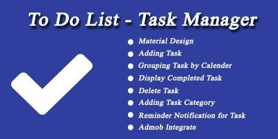 To Do List- Task Manager Android
