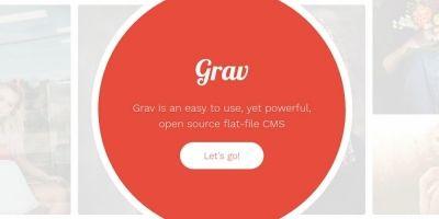 Radius - Grav theme