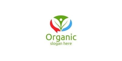 Chat Or Blog Natural And Organic Logo Design