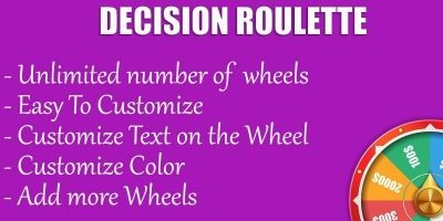 Decision Roulette - Android Source Code