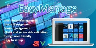 EasyManage - Laravel Starter Kit