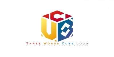 Three Words Cude Logo