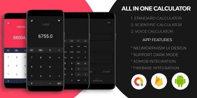 All In One Calculator With Voice Input Android