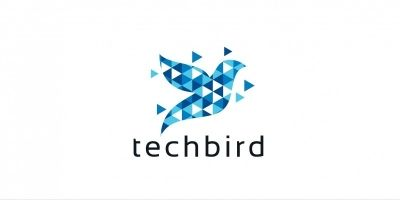 Tech Bird Logo